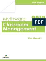 Classroom Management User Manual