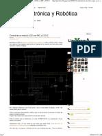 LCD Con Pic16f84 y CCS