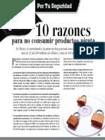 10 Razones Para No Consumir Productos Pirata