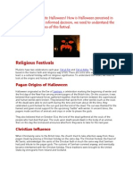 Do Muslims Celebrate Halloween