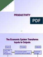 (Productivity)
