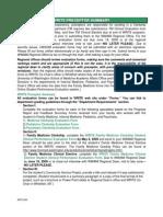 WRITE Preceptor Summary Form