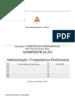 ATPS_Competências Profissionais