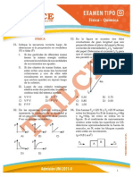 Solucionario Física-Química UNI 2011-II