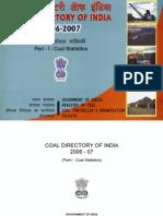 Coal Directory. (http://coal.nic.in/coaldir0607.pdf)