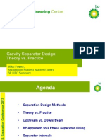 14 Gravity Separator Design - Power
