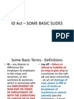 Id Act -Basics