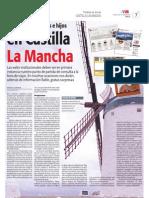 Aventuras de padres e hijos en La Mancha