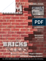 CAM Magazine April 2007 - Flooring, Masonry