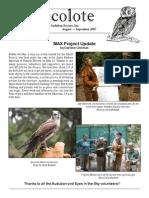 September 2007 Santa Barbara Audubon