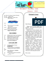 Nov. Newsletter 2009