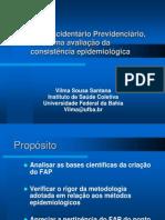 FAP uma avaliação da consistência epidemiológica