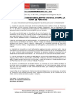 AYACUCHO SERÁ SEDE DE ENCUENTRO NACIONAL CONTRA LA TRATA DE PERSONAS.doc