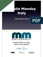 2009-10-19 Mobile Application Stores Intro - Albert Antonini Mangia - Mediaset
