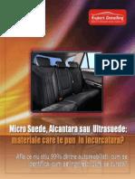 Micro Suede, Alcantara Sau Ultrasuede Materiale Care Te Pun in Incurcatura