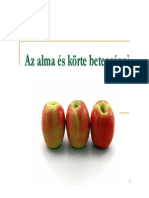 alma körte betegségei