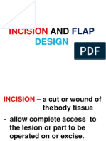 Inscision and Flap Design