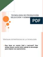 TECNOLOGÍA DE PRODUCCIÓN