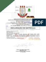 Maria Rita Lima Rodrigues Declara