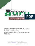 Income Tax Return Filing PDF