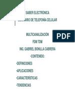 3) Qué es FDM y TDM -Definiciones y Fundamentos