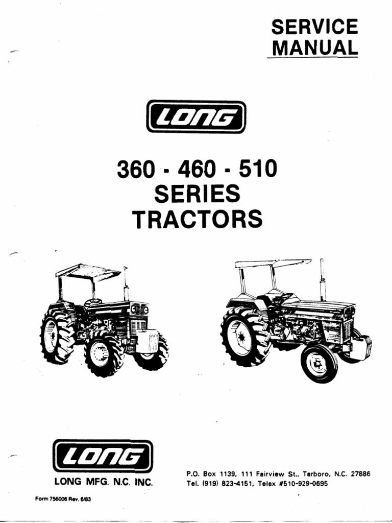 utb 445 s utb 530 service repair manual internal combustion engine rh scribd com New Long Tractor Parts 350 Long Tractor Parts