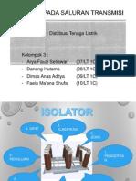 Isolator Saluran Transmisi Udara
