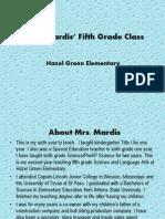 mrs  mardis orientation powerpoint