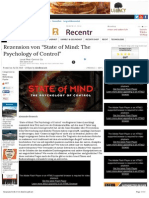 Strahlenfolter Stalking - TI - Rezension Von State of Mind - The Psychology of Control - Forum.recentr.com