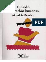 Mauricio Beuchot - Filosofía y derechos humanos.pdf