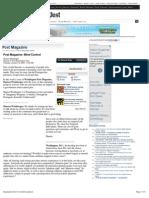 Strahlenfolter Stalking - TI - Mind Control - Washington Post Magazine, Sharon Weinberger - Washingtonpost.com