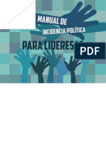 Manual de Incidencia Politica Para Lideresas