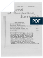 Journal of Borderland Research - Vol XLII, No 1, January-February 1986
