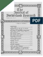 Journal of Borderland Research - Vol XLII, No 6, November-December 1986