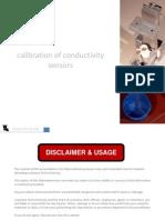 Calibration of Conductivity Sensors