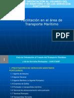 01 Prestadores de servicio en el Transporte Marítimo