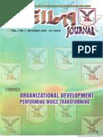 Agila Journal (1st Issue)