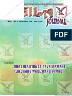 Agila Journal (1st Issue)