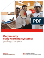 The Community Early Warning Systems - guiding principles