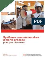 Systèmes communautaires d'alerte précoce