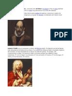 Greco y Vivaldi