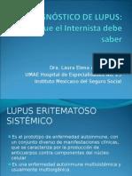 EL DIAGNÓSTICO DE LUPUS