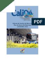 Metro Cali Informe de Gestion 2013 SITM MIO PDM 2012 2015