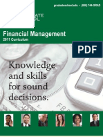 Financial Management 2011 Curriculum Brochure