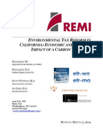 Environmental Tax Reform in California -- Economic and Climate Impact of...