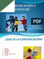 Presentación 1 COMUNICACIÓN Y LENGUAJE