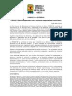 140319 COMUNICADO Defensoras Comité Cerezo