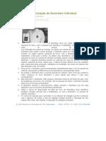 Instruções de Utilização do Dosimetro Individual
