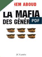 Hichem Aboud La Mafia Des Generaux