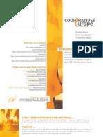 Cooperatives Europe brochure